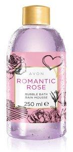 Happy Valentine's Day mit AVON Sinnliches Verwöhn-Erlebnis mit Rosenduft AVON Romantic Rose Schaumbad Preis: 2,29 € (250 ml)