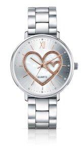Happy Valentine's Day mit AVON Zeit für die Liebe Trendige Armbanduhr mit Herz-Zifferblatt Preis: 29,95 € UVP