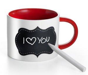 Happy Valentine's Day mit AVON Liebes-Botschaft am Morgen Personalisierbare Tasse Preis: 10,99 € UVP