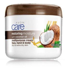 AVON CARE RESTORING MOISTURE mit Kokosöl coconut multipurpose cream Multiaktiv