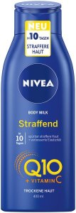 NIVEA Q10 HAUTSTRAFFENDE BODY MILK UND LOTION – PLUS VITAMIN C
