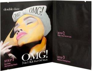 OMG! sagt alles über die neuen Masken mit AHA-Effekt OMG Mask Spa Collection 3 in 1 kit Peel maske