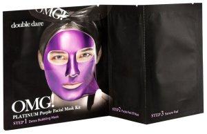 OMG! sagt alles über die neuen Masken mit AHA-Effekt omg mask purple face mask Platinum collection