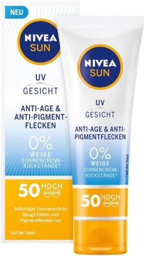 Die neuen von Nivea SUN Schutz & Bräune Sonnenspray, NIVEA SUN UV Gesicht und Schutz & PflegeSonnen-Milch