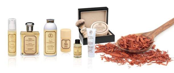 Duft-Klassikeraus der Welt der Rasur-Kosmetik Sandelholz Taylor of old Bond Street