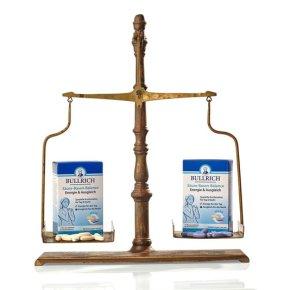 Den Säure-Basen-Haushalt innerlich und äußerlich unterstützen – mit dem neuen Bullrich Säure-Basen-Balance Basenpulver Pur und BasischesBadesalz