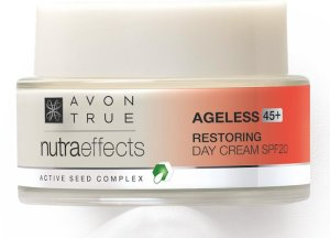 AVON feiert Muttertag True Nutra Effects ageless restoring Tagescreme