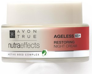 AVON feiert Muttertag True Nutra Effects Ageless Restoring Night Cream