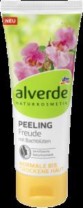 Die Bachblüten-Serie von alverde NATURKOSMETIK bietet nun auch Auszeit alverde NATURKOSMETIK Peeling Freude mit Bachblüten