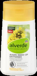 Die Bachblüten-Serie von alverde NATURKOSMETIK bietet nun auch Auszeit alverde NATURKOSMETIK Augen-Make-up Entferner Gelassenheit mitBachblüten