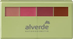 alverde naturkosmetik matt shiny lipstick kit
