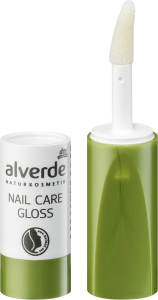 alverde naturkosmetik nail care gloss