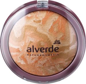 alverde naturkosmetik clear beauty mattierendes puder rosy beige