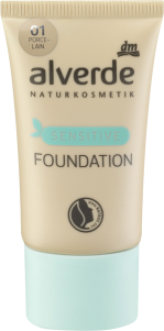 alverde naturkosmetik foundation sensitive