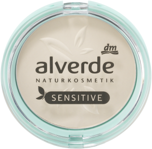 alverde naturkosmetik mattifying puder sensitive light powder