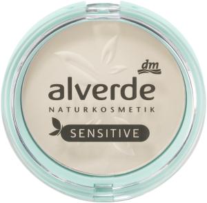alverde naturkosmetik mattifying puder sensitive light powder