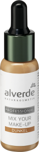 alverde naturkosmetik professional mix your make up dunkel