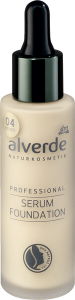 alverde naturkosmetik serum foundadtion 04 honey
