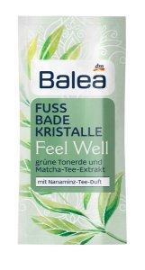 Mit Balea Feel Well auf gepflegten Füßen dem Sommer entgegen badekristalle