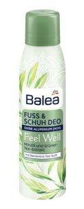 Mit Balea Feel Well auf gepflegten Füßen dem Sommer entgegen fuß schuh deo