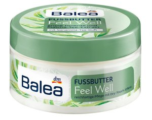Mit Balea Feel Well auf gepflegten Füßen dem Sommer entgegen fußbutter