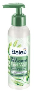 Mit Balea Feel Well auf gepflegten Füßen dem Sommer entgegen Fußmilchcreme