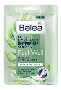 Mit Balea Feel Well auf gepflegten Füßen dem Sommer entgegen hornhautentfernersocken