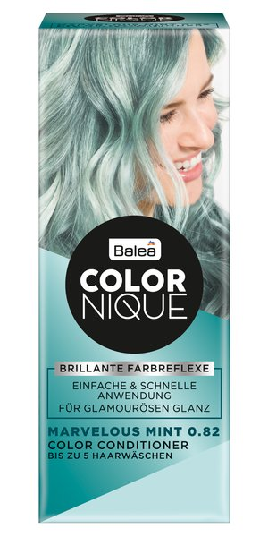 Balea COLORNIQUE Color Conditioner Marvelous Mint