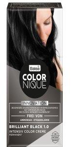 Balea COLORNIQUE Intensive Color Creme brilliant black