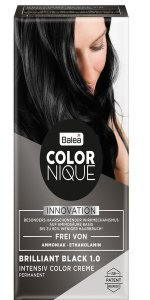 Balea COLORNIQUE Intensive Color Creme brilliant black