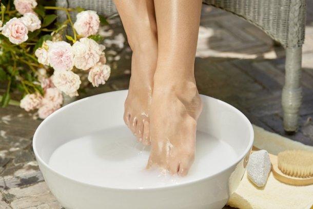 Nivea Rosenöl für die Füße