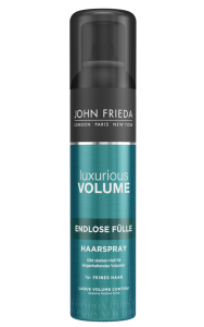 VOLUMEN beginnt mit KRAFT mit JOHN FRIEDA Luxurious Volume® Inner Power volume endlos fülle haarspray