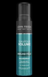 VOLUMEN beginnt mit KRAFT mit JOHN FRIEDA Luxurious Volume® Inner Power volume endlos fülle haarspray
