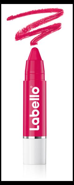 Labello Lips2Kiss Color Lip Balm vereint Lippenstift mit Labello-Pflege