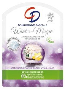 Kuschelige Momente mit CD Schäumende Badesalze Winter Magie