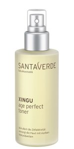 Santaverde Gesichtspflege XINGU Age Perfect Das Anti-Ageing Elixier aus dem brasilianischen Regenwald anti age perfect toner