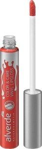Neue Make-up-Produkte für strahlend schöne Herbst- und Winterbeautys alverde NATURKOSMETIK Color & Care Vinyl Lip Gloss 30