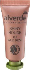 Neue Make-up-Produkte für strahlend schöne Herbst- und Winterbeautys alverde NATURKOSMETIK Shiny Rouge Wild Rose
