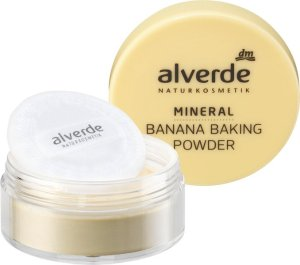 Neue Make-up-Produkte für strahlend schöne Herbst- und Winterbeautys alverde NATURKOSMETIK Banana Baking Powder