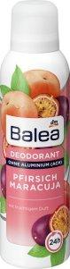 Happy Deo-Days mit Frische-Kick – Mit Spray oder Roll-On ein sicheres Gefühl Balea Deodorant Pfirsich Maracuja – mit fruchtigem Duft