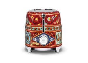 Dolce & Gabbana Kollektion von Smeg 2 Scheiben Toaster