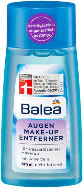 Abschminken, reinigen und pflegen - Mit den Spezialisten von Balea perfekt versorgt augen makeup entferner