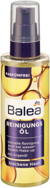 Abschminken, reinigen und pflegen - Mit den Spezialisten von Balea perfekt versorgt reinigungsöl