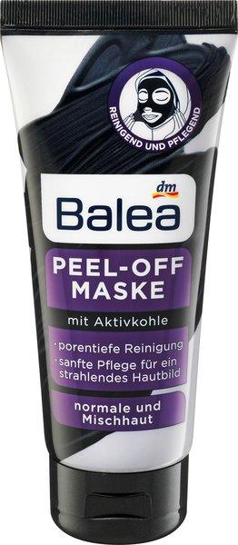 Abschminken, reinigen und pflegen - Mit den Spezialisten von Balea perfekt versorgt peel off maske