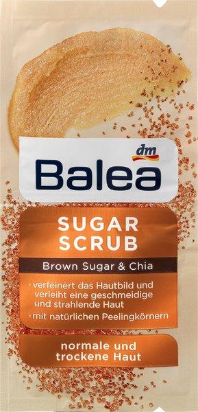 Luxus für die Haut – Balea Brown Sugar & Chia sugar scrub