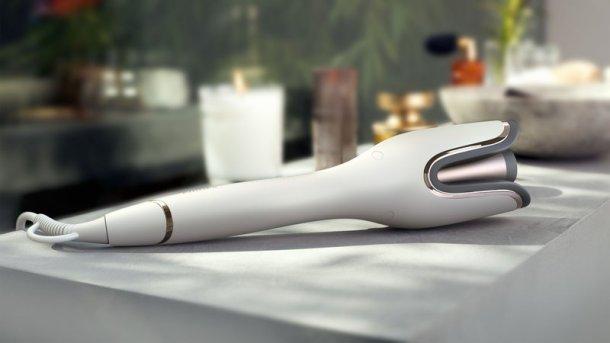 Der Philips Auto Curler im neuen Design und mit MoistureProtect Funktion