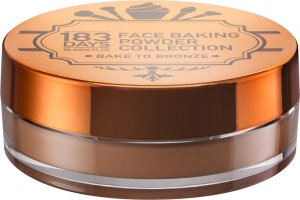 Cool, frech & unique – die neue Serie von 183 DAYS face baking powder