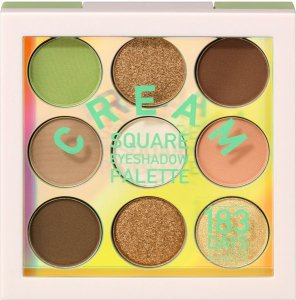 Cool, frech & unique – die neue Serie von 183 DAYS cream square eyeshadow
