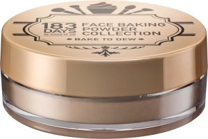 Cool, frech & unique – die neue Serie von 183 DAYS face baking powder collection