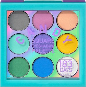 Cool, frech & unique – die neue Serie von 183 DAYS candy square eyeshadow